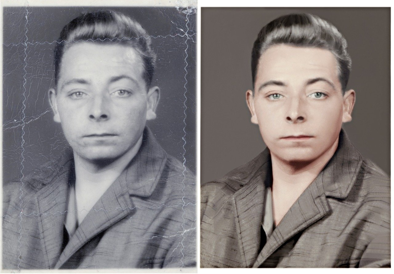 Photo Restoration Service work